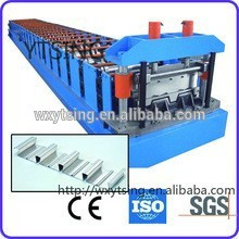 Pass CE and ISO YTSING-YD-1298 Profile Steel Structure Decking Roll Forming Machine Manufacturer
