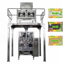 Máquina automática de embalagem de arroz e açúcar VFFS de 1 a 5 kg