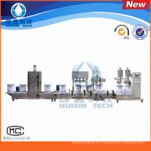 Máquina de llenado para pintura industrial / pintura anticorrosión / pintura de piso / resina / solvente químico / agentes de curado
