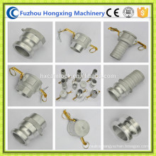 Aluminum camlock coupling hose quick fittings