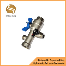 Brass Ball Valve with Butterfly Handle (TFB-040-001)