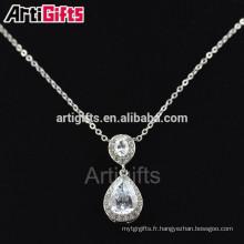 Nouveau style collier fashionble bijoux pendentif pour les filles