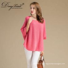 2017 розового цвета Оптовые продажи фалт 12ГГ вязаный свитер последний дизайн для зимы