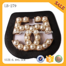 LB279 Custom brand logo leather patch for handbag
