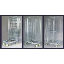 Dobradura de zinco chapeado Roll Container para armazenamento (SLL07-L017)