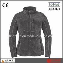 Meilleur prix populaire Ladys Jacket Coral Fleece veste avec fermeture à glissière