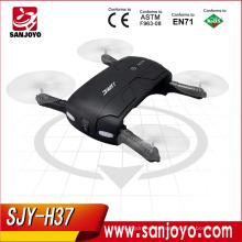 Selfie drone JJRC H37 Modo sin cabeza Autodisparador WIFI Transmisión en tiempo real Juguetes y pasatiempos de control remoto plegable