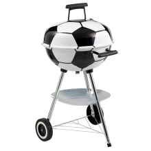 Fußball Shaped Design Holzkohle BBQ Grill Grill