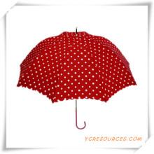 Fashion Sun Straight Golf Regenschirm Pongé OEM Regenschirm für Promotion