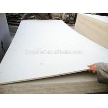 Hochwertige 1220 * 2440mm weiße Melamin Spanplatte