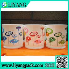 Unterschiedliche Farbe im gleichen Design, Wärmeübertragungsfolie für Plastikbecher