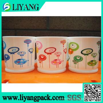 Различные цвета в едином дизайне, фильм передачи тепла для пластиковых стаканчиков