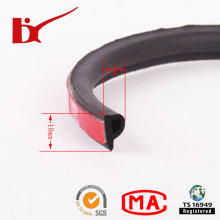 P Shape 3m Adhesive Rubber Seal Strip