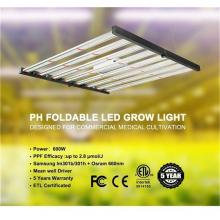 Barra de luz de cultivo LED regulable 600W 3000K 6000K