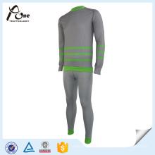 Mens Seamless Thermal Unterwäsche lange Unterhosen Set