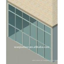 Novo sistema de aranha de parede de cortina de design