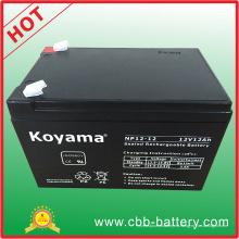 Batería de AGM del plomo ácido 12V 12ah para la seguridad, UPS, protector contra sobretensiones