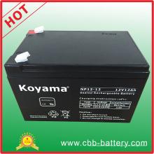 Bateria acidificada ao chumbo de AGM de 12V 12ah para a segurança, UPS, protetor de impulso