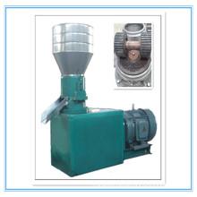 flat die wood pellet mill/pellet feed making machine