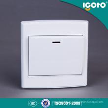 Igoto British Standard D3020 1 Gang 1 Way 20A Interruptor de luz eléctrica