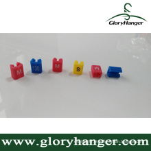 Sizer plástico do vestuário do gancho (GLPZ001)