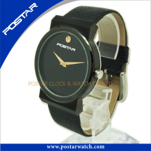Normally Round-Shaped Watch with IP Black Plating Psd-2781