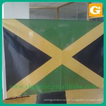 Drapeau national de zimbabwe de polyester de conception moderne à vendre