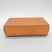 Gold Color Moon Cake White Card Box