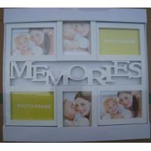 White Memories Collage Photo Frame