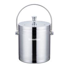 Double Wall Stainless Steel Ice Bucket/Metal Ice Bucket