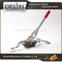 Plastic handle winch puller