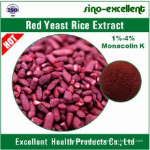 Extracto de arroz de levedura vermelha Monacolin K