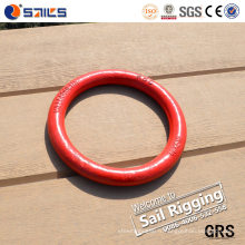 Qingdao Rigging matériel Drop Forged Steel Weldless Ring