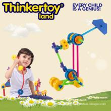 Plastic Education Spielzeug DIY Produkt Baustein Spielzeug
