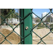 Red de cercas de malla de alambre de cercas de cadena para seguridad