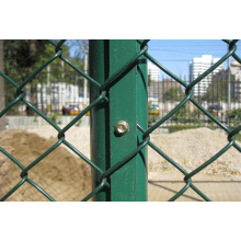 Загородка звена цепи Загородка ячеистой сети для безопасности