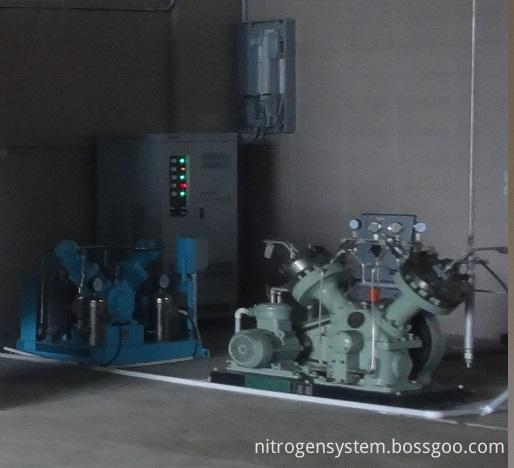 High Pressure Diaphragm Oxygen Compressor Site