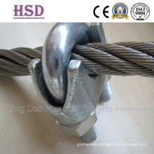 E. Galvanized DIN741 Wire Rope Clips, Us Mellable Wire Rope Clips, JIS Forged Type Wire Rope Clips