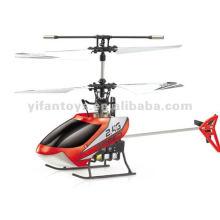 Pequeño helicóptero de control remoto de aleación de 4 canales 2.4G