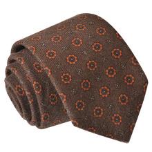 Neuankömmlinge 2018 Herren Tweed Wolle Krawatte Gelb