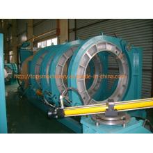 CE aprobó la máquina de soldadura del extremo de la fusión del calor del tubo del HDPE