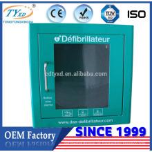 Hsinda-Cabinet Für AED hochwertige medizinische Wandhalterung Defibrillatorgehäuse