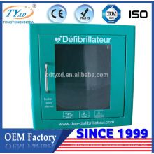 Hsinda-Cabinet For AED high quality medical wall mount defibrillator cabinet