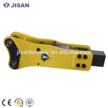 Disjuntor hidráulico, martelo hidráulico, disjuntor da rocha da máquina escavadora