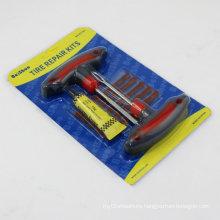 Useful 8in 1 Wheel Car Bicycle Tubeless Tire Repairing Kit Tool Set