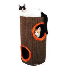 Sisal Cat Toy Cat Rope que rasguña el árbol del poste