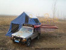 Rooftop Tents with Caravan Awnings