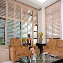 good quality pvc/basswood plantation shutter from china supplier