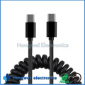 Customize Length Spring Type C USB Cable