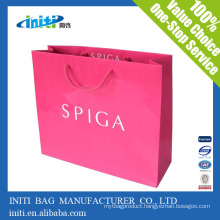 2016 Customized fashionable high quality paper bags with your own logo